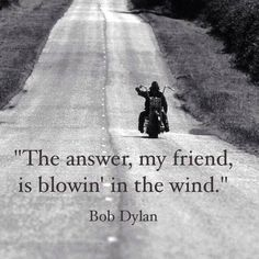 """Bob Dylan - """"Blowin' In The Wind""""                                                                                                                                                                                 More"""