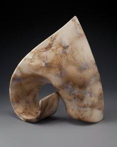 2009, smoke fired stoneware, 10.5x9.5x4 inches