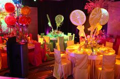 Charlie and the Chocolate Factory/Willy Wonka Candy Center Pieces