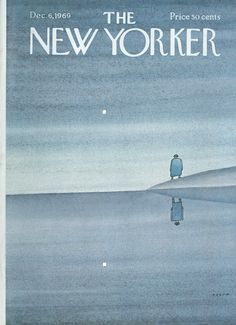 The New Yorker - Saturday, December 6, 1969 - Issue # 2338 - Vol. 45 - N° 42 - Cover by : Jean-Michel Folon
