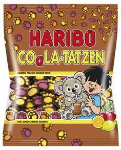 Haribo Impronte di Koala 200g caramelle gommose Haribo Candy, Haribo Sweets, Candy Gift Baskets, Candy Gifts, All Candy, Candy Corn, Harry Potter Candy, Candy Videos, Chibi Food