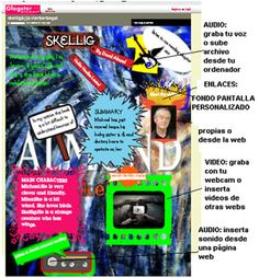 Glogster, to make interactive and multimedia posters. Photos, Videos, Texts: students can combine all kinds of media on one page and create fantastic posters that really tell the story. The possibilities are limitless.