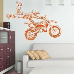 Szablon malarski - Motocross | Paint template - Motocross | 24,49 PLN #paint #template #motocross #home_decor #interior_decor #design