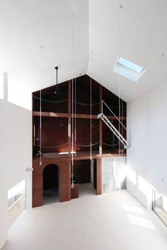 Interior of House with Empty Lot ONdesign partners 2011