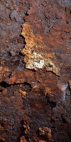 Rusted wall #texture #rust                                                                                                                                                     Más