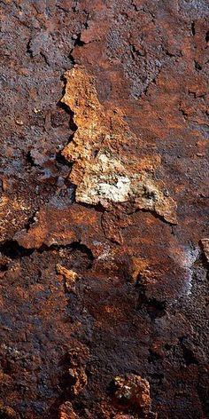 Rusted wall #texture #rust                                                                                                                                                     Más