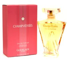 Champs Elysees Perfume by Guerlain For Women: Scent includes notes of rose, almond, and berry. Introduced in 1996.