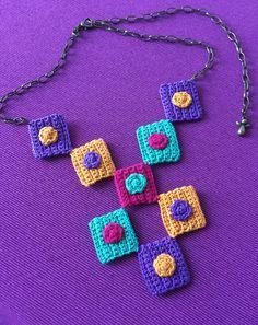 Crochet - necklace