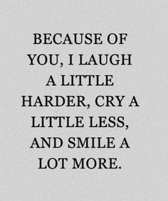 Smile A Lot More - Lovely Friendship Quote