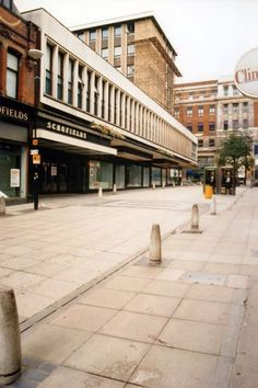 Schofield's Department Store before demolition for 'development'. Lands Lane, Leeds 1987