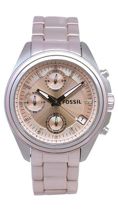 Fossil Women's Boyfriend...pink, but not too pink. need.