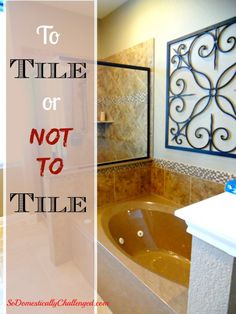 Is a tile surround worth the cost of building?