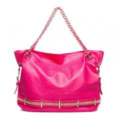 super fun bag  ------  que lindo rosado!!