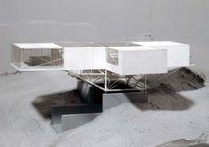 Nested Cube in Process, Kunimi-machi, Oita - Collection - frac centre - 1993-1995
