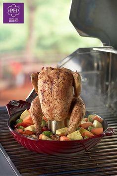 Cocina un pollo rostizado saludable y lleno de sabor en tu hogar con la Cacerola honda y más Mi Cocina de Princess House® #PolloRostizado #PrincessHouse