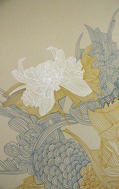Ideas For House Illustration Art Artworks Art And Illustration, Gravure Illustration, Flower Illustrations, Art Inspo, Kunst Inspo, Arte Sharpie, Art Asiatique, Art Japonais, Ouvrages D'art