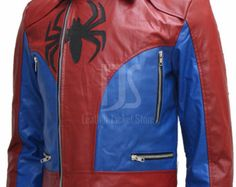 Amazing Spider-Man Biker Jacket