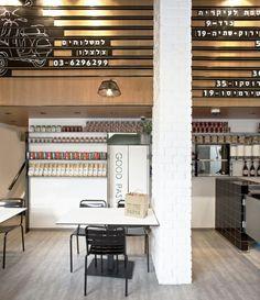 aménagement de salon moderne idée d'un restaurant israélien