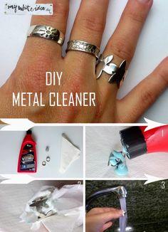 DIY METAL CLEANER | MY WHITE IDEA DIY