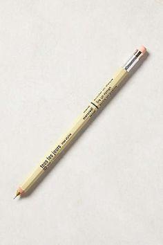 Tous Les Jours Pencil