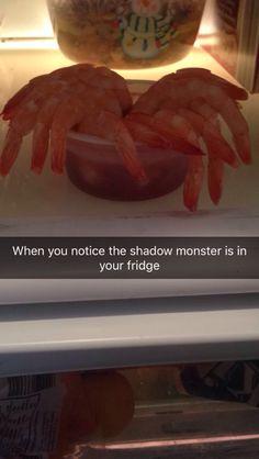 Shadow monster Stranger Things shrimp