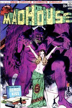 Madhouse by Gray Morrow Comic Book Characters, Comic Books, Mike Allred, Dan Decarlo, Garcia Lopez, Jordi Bernet, Will Eisner, Alex Toth, John Buscema