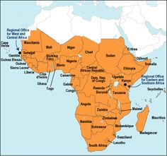 sub saharan africa map | Canada's Economy | Pinterest | Africa map
