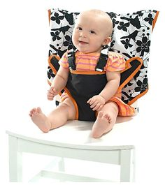 My Little Seat Travel High Chair - Not that I have a baby to use this for, just think it's a great idea!