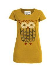 armedangels: Frauen - T-Shirts & Tops - Kate Indian Owl