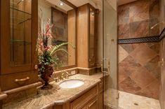 Badezimmer Landhausstil Dusche Duschkabine