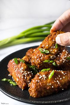 Spicy and Crispy Korean Fried Chicken (the other KFC) | I need some of this right now!
