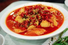 Spicy City is a Chinese restaurant in San Diego's Kearny Mesa neighborhood that specializes in the cuisines of Sichuan and Yunnan provinces.