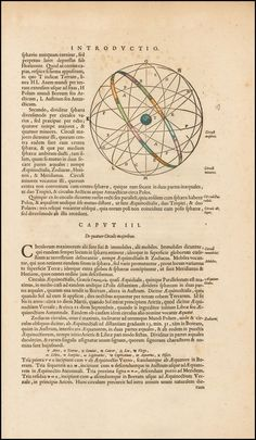 [Heliocentric Model of the Universe] Introductio ad cosmographiam - Barry Lawrence Ruderman Antique Maps Inc.