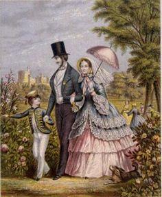 Victoria and Albert promenade at Windsor