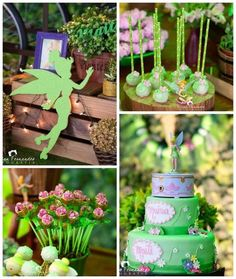 Tinkerbell Fairy Garden Birthday Party via Kara's Party Ideas KarasPartyIdeas.com (2)