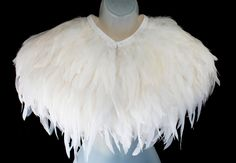 Wedding Cape, Bridal Cape, Dream Wedding, Wedding Stuff, Princess Katherine, Coque Feathers, Feather Art, Winter Wonderland Wedding, White Feathers