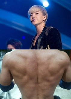 Leeteuk Shows off his Muscular Back – With a Devil in it?