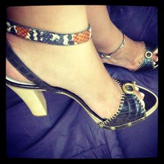 Pinko shoes. Great for summer