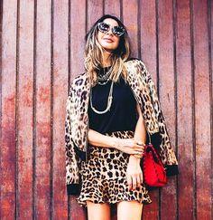 Leopard fever by Helo Gomes. #winter #fashion #brazilianness www.brazilianness.com