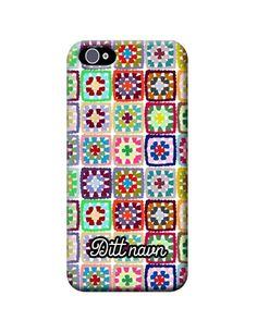 "Mobildekselet(hardcase) ""Bestemorruter - hvit"". iPhone case Granny squares Granny Squares, Iphone Cases, Store, Storage, I Phone Cases, Shop"