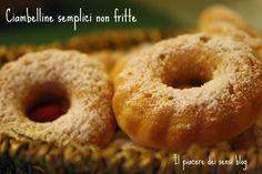 Ciambelline semplici non fritte