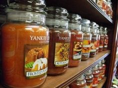 Yankee Candles - Dan ( fruity or spice smells)   Patty (same kind y'all like but need tarts with the candle)
