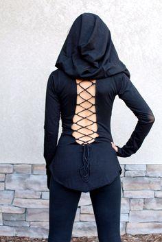 Nienna Hooded Top w/ Sleeves