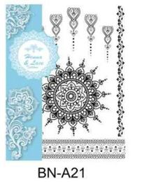 Safety skin temporary black and white lace henna tattoo White Lace, Black And White, Color Change, Henna, The 100, Safety, Tapestry, Tattoos, 3d