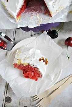 Strawberry Shortcake Overnight Pudding   www.somethingswanky.com