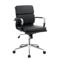 Furniture of America Bastion Low Back Office Chair