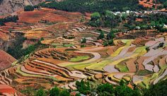 God's Palette: The Red Lands of Dongchuan http://www.visiontimes.com/2015/03/20/gods-palette-the-red-lands-of-dongchuan-photos.html?photo=2