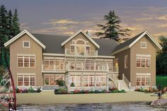 Pool House Plans, Basement House Plans, Cottage House Plans, Best House Plans, Cottage Homes, Drummond House Plans, Beachfront House, Maine Cottage, Mountain House Plans