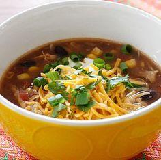 enchillada soup - crockpot