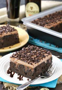 Guinness Chocolate Poke Cake   15 Poke Cake Recipes You Need In Your Life